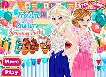 Anna si Elsa Petrecere Aniversara