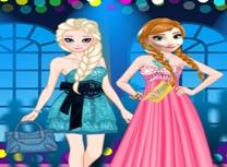 Anna si Elsa Pregatiri de Bal