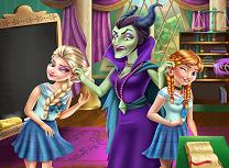 Anna si Elsa Probleme la Scoala