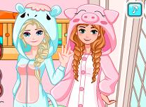 Anna si Elsa Tinute de Somn