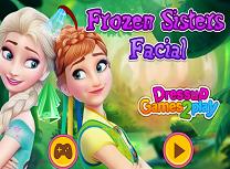Anna si Elsa Tratamente Faciale