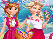 Anna si Elsa de Paste