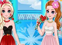 Anna si Elsa de Ziua Indragostitilor