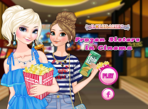 Anna si Elsa la Cinema