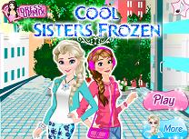 Anna si Elsa la Moda