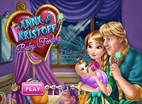 Anna si Kristoff Hranesc Copilul
