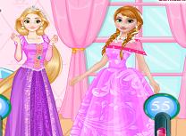 Anna vs Rapunzel Concurs de Frumusete