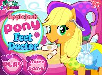 Apple Jack Ranit la Picior