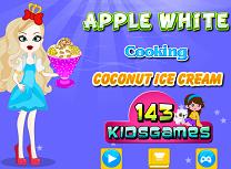 Apple White Gateste Inghetata de Cocos