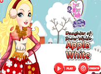 Apple White Tinuta de Iarna