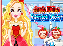 Apple White Vizita la Dentist
