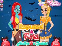 Arie si Rapunzel Concurs de Halloween