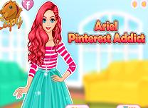 Ariel Dependenta de Pinterest