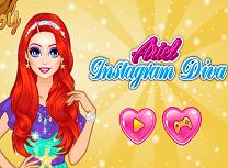 Ariel Diva pe Instagram