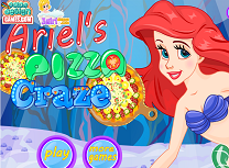 Ariel Face Pizza