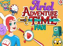 Ariel Fan Finn si Jake