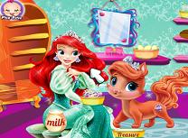 Ariel si Animalul de la Palat
