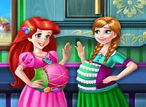 Ariel si Anna Gravide