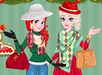 Ariel si Elsa Rivale in Moda de Iarna