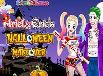 Ariel si Eric Pregatiri de Halloween
