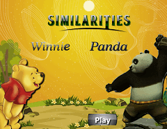 Asemanari intre Winnie si Panda