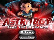 Astro Boy Litere Ascunse