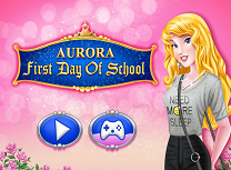 Aurora Prima Zi de Scoala
