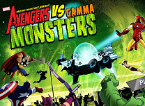 Avengers Vs Monstri Gama