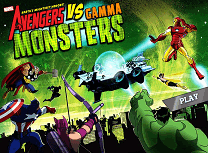 Avengers Vs Monstrii Gamma