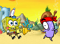 Aventura cu Spongebob