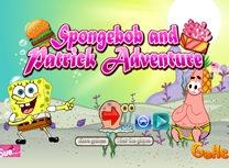Aventura lui Spongebob cu Patrick