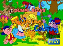 Aventurile Ursilor Gummi de Colorat