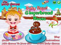 Baby Hazel si Casa din Turta Dulce
