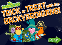 Backyardigans de Halloween