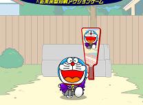 Badminton cu Doraemon