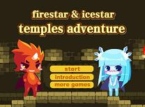 Baiatul Foc si Fata Apa Aventura din Templu