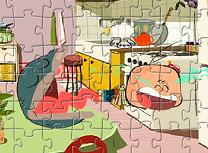 Baiatul Stridie si Scoica Puzzle