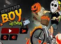 Baiatul cu Ziarul de Halloween