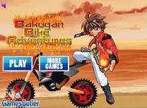 Bakugan cu Motocicleta