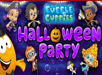 Baloane si Guppy de Halloween