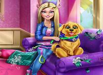 Barbie Antreneaza Cainele