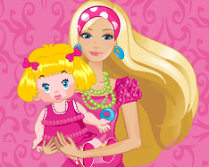 Barbie Baby Siter