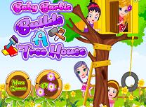 Barbie Construieste o Casa in Copac