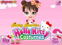Barbie Costum Hello Kitty