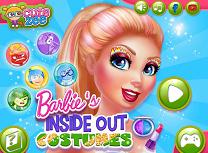 Barbie Costume Intors pe Dos