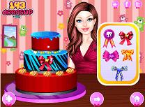 Barbie Decoreaza Tortul