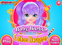 Barbie Designer de Tatuaje