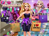 Barbie Febra Cumparaturile
