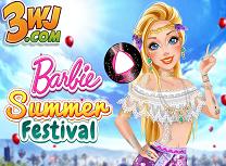 Barbie Festivalul Verii