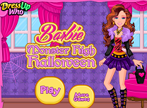 Barbie Halloween la Monster High